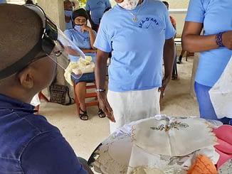Séance de travail – La Vallée de Jacmel
